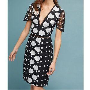 NWOT $495 Anthropologie ML Monique Lhuillier Dress